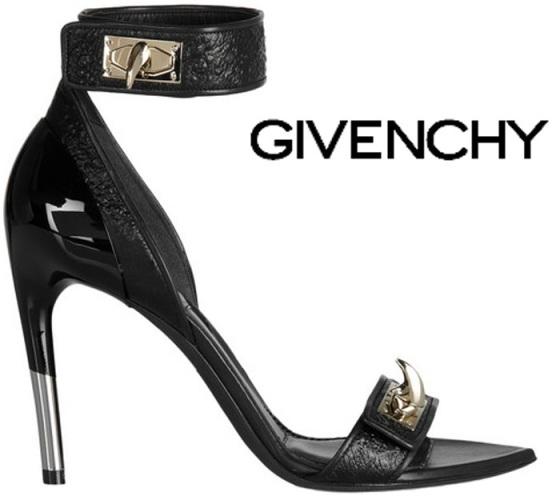 Givenchy-Spring-2012-sandal-heel-shoe
