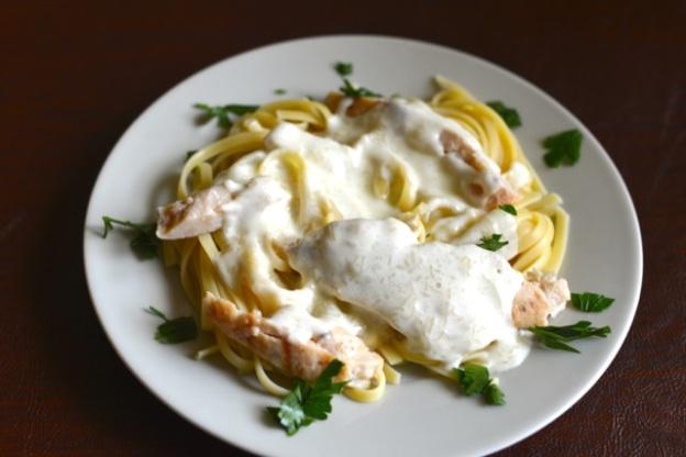 Olive-Garden-Grilled-Chicken-Alfredo