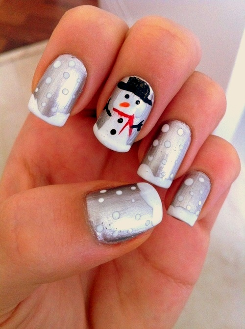 25 Cute As Christmas Nail Art Designs Make Something Mondays