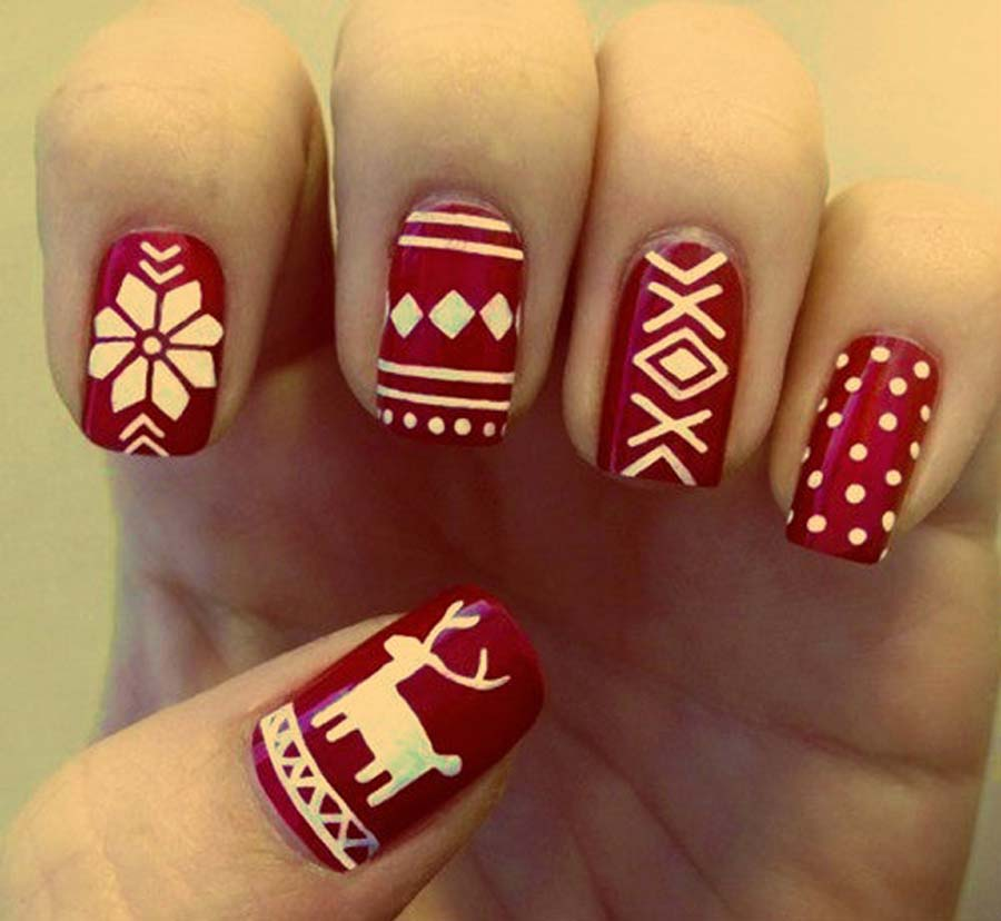 Holiday Nail Polish Designs Hession Hairdressing