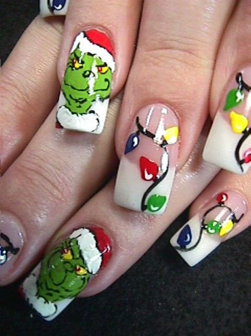 Merry-Christmas-Nail-Art-Styles