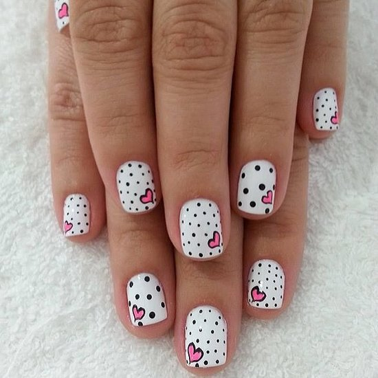 Fall-Love-Best-Valentine-Day-Nail-Art-Instagram